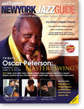 NY Jazz Guide Magazine Cover