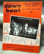 DOWNBEAT 10 2 58 COVER